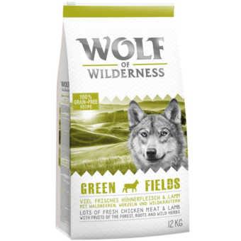 Spannmålsfritt torrfoder - Wolf of Wilderness lamm