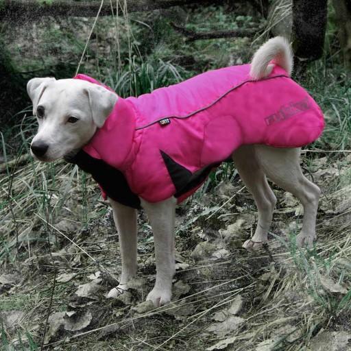 Ett poppis rosa vintertäcke från Rukka